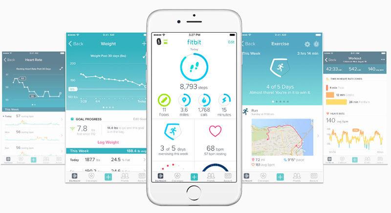 fitbit-بهترین برنامه های آیفون در سال 2018