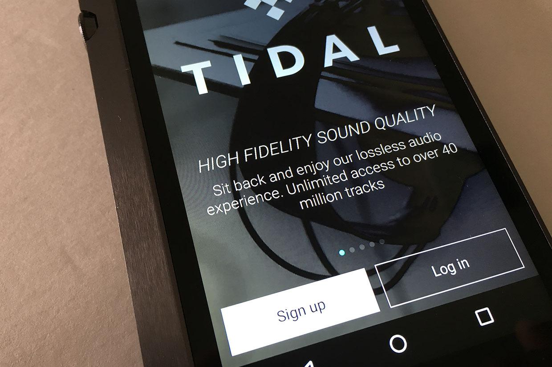 tidal- بهترین برنامه های موسیقی برای آیفون