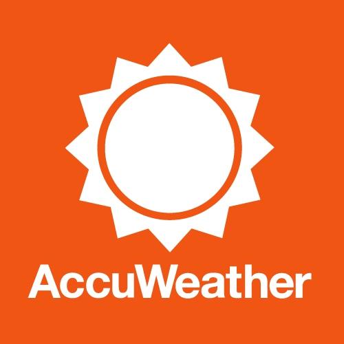 AccuWeather.بهترین برنامه های هواشناسی برای آیفون در سال 2018
