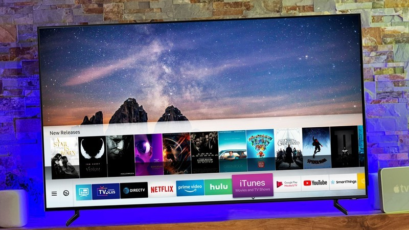 امکان استفاده از iTunes Movies و TV Shows app در تلوزیونهای 2019 سامسونگ